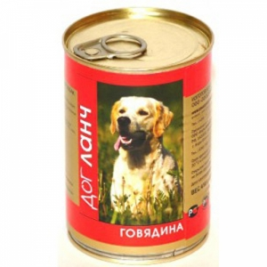 Dog Lunch говядина в желе
