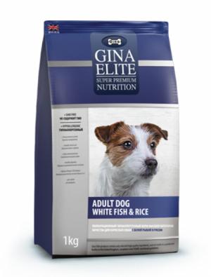 ADULT DOG WHITE FISH & RISE гипоаллергенный с белой рыбой и рисом