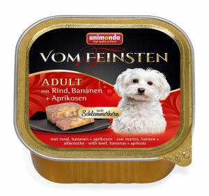 VOM FEINSTEN ADULT  меню для гурманов с говядиной, йогуртом и овощами для собак