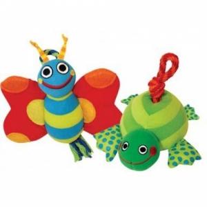 """Petstages игрушка для собак текстиль """"Бабочка и черепашка"""""""