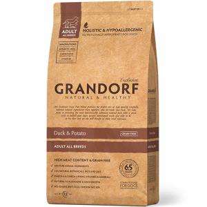 Grandorf Adult All Breeds с уткой и картофелем