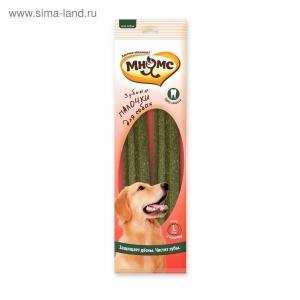 """Мнямс """"Зубные палочки для собак"""" размер L, 2 шт х 85 г 23,5 см"""