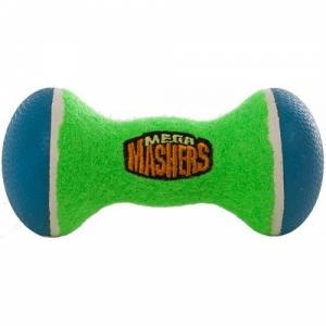 """R2P игрушка для собак Mega Masher """"Гантеля"""" вспененная резина с покрытием теннисного мяча"""