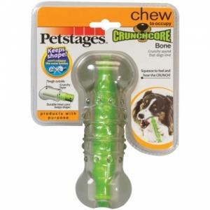 """Petstages игрушка для собак """"Хрустящая косточка"""" резиновая большая"""