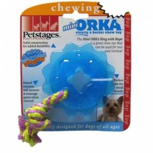 """Petstages игрушка для собак Mini """"ОРКА кольцо с канатом"""" маленькая"""
