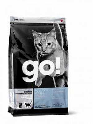GO! Cat Solutions Sensitivities All Life Stages Grain Free с минтаем