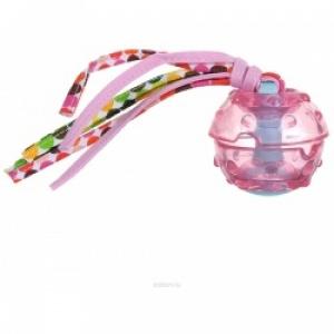 """SuperDesign игрушка для собак """"Мячик с текстильными хвостиками"""" силиконовый"""