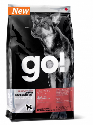 GO! Dog Solutions Sensitivities All Life Stages Grain Free c лососем