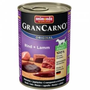 GRAN CARNO ADULT  консервы с говядиной и ягненком для взрослых собак