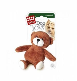 GiGwi игрушка для собак мишка с  пишалкой