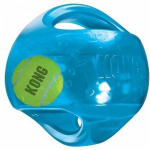 Kong игрушка для собак Джумблер Мячик средние и крупные породы, синтетическая резина