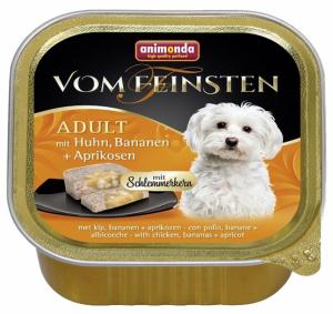 VOM FEINSTEN ADULT  меню для гурманов  с курицей, бананами и абрикосом для собак