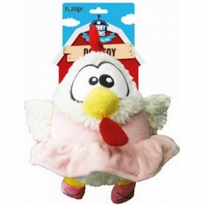 """R2P игрушка для собак Funny Farms """"Цыпленок в юбке"""" плюш"""