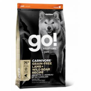 GO! Dog Solutions Carnivore All Life Stages Grain Free c ягнёнком и мясом дикого кабана