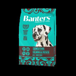 Banters Dog Adult Sensitive Salmon & Potato с лососем и картофелем