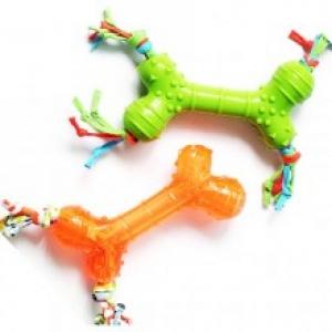 """SuperDesign игрушка для собак """"Косточка"""" силиконовая"""