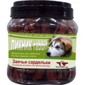 Green Qzin  Пикник 2 колбаса из кролика