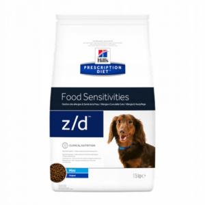 Hill's Prescription Diet z/d Mini для собак мелких пород с пищевой аллергией
