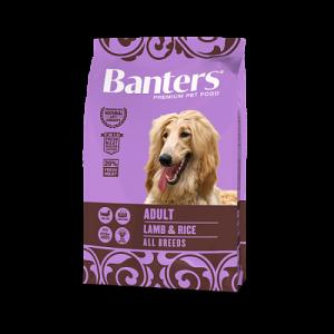 Banters Dog Adult Lamb & Rice с ягнёнком и рисом