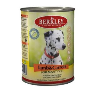 Berkley Ягненок с морковью для собак