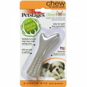 Petstages игрушка для собак Deerhorn, с оленьими рогами очень  маленькая