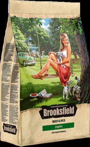Brooksfield Puppy с говядиной и рисом