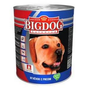 """BIG DOG Grain Line для собак """"Ягнёнок с рисом"""""""