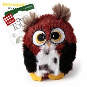 GiGwi игрушка для собак сова  с большой пишалкой