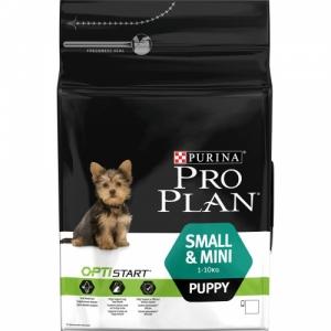 Pro Plan Small & Mini Puppy с комплексом Optistart для щенков мелких пород