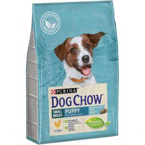 Dog Chow Puppy для щенков  мелких пород