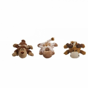 "Kong игрушка ""Кози Натура"" (обезьянка, барашек, лось) плюш,  13 см"