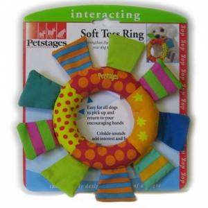 """Petstages игрушка для собак Mini """"Кольцо текстильное"""""""