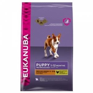 Eukanuba Puppy & Junior Medium Breed для щенков средних пород