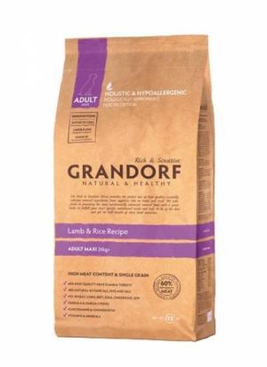 Grandorf Maxi Adult с ягнёнком и рисом