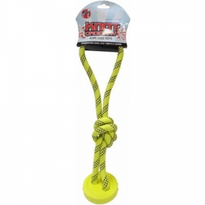 """R2P Ordinary Knots """"Канат с мячиком и петлей"""" игрушка для собак"""