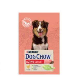 Dog Chow Adult Active для взрослых собак с курицей