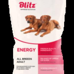 BLITZ ADULT ENERGY для активных, рабочих  собак