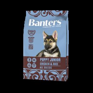 Banters Puppy Junior Chicken & Rice с курицей и рисом