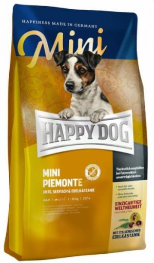 Happy Dog Утка/Рыба/Каштан Supreme Mini Piemonte