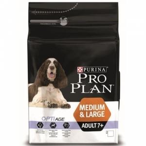 Pro Plan Medium&Large Adult 7+ с комплексом OPTIAGE средних и крупных пород
