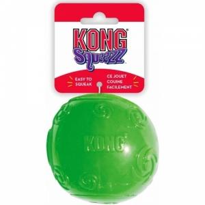 Kong  Сквиз Мячик резиновый с пищалкой
