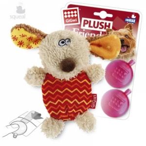 GiGwi игрушка для собак собачка с  пишалкой