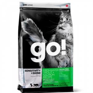 GO! Cat SENSITIVITY+SHINE All Life Stages с лососем и форелью