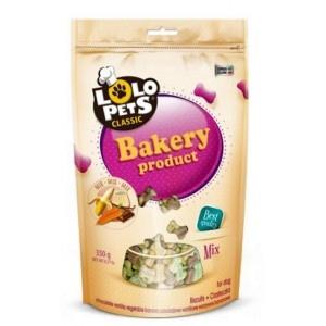 LO-Печенье для собак - крокеты фигурные mix  350г