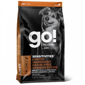 GO! Dog Solutions Sensitivities All Life Stages Grain Free c олениной