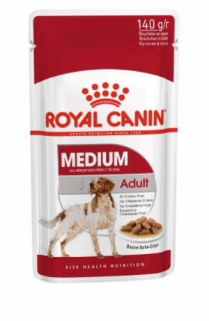 Royal Canin MEDIUM ADALT 140гр