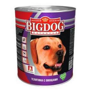 """BIG DOG Grain Line для собак """"Телятина с овощами"""""""