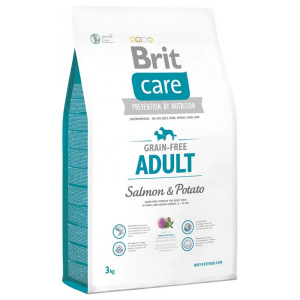 Brit Care Grain-free Adult Salmon&Potato для всех пород