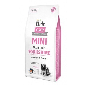 Brit Care Mini Yorkshire беззерновой корм с лососем и тунцом для йоркширских терьеров