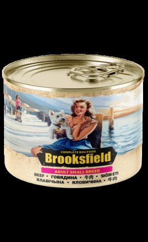 Brooksfield Adult Small Breed Dog говядина/коричневый рис